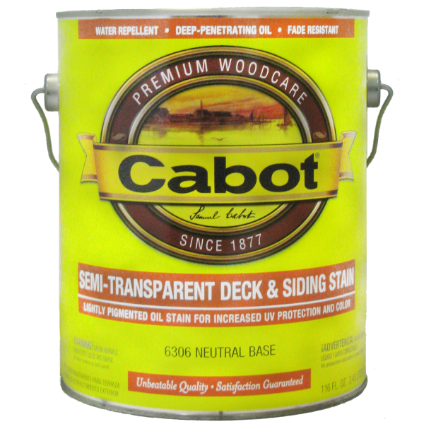 Cabot Semi Transparent Deck & Siding Stane