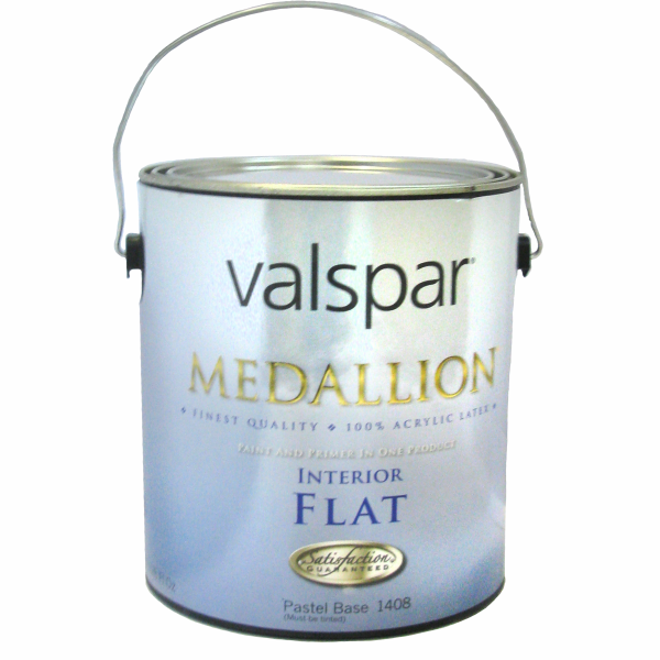 Valspar Medallion 100% Acrylic Latex Flat Paint